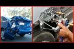 Video - Total zertrümmerte Autos so gut wie neu restaurieren