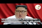 Video - Wegen Coronavirus: Nordkoreaner dürfen Land vorerst nicht verlassen (Corona Extra)
