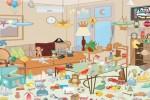 Spiel - Turquoise house hidden objects