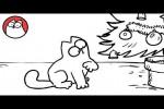 Video - Simon's Cat in 'Santa Claws'