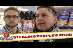 Video - Versteckte Kamera - wer drängelt sich da vor