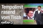 Video - Tempolimit rasend schnell wieder vom Tisch | extra 3