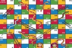 Spiel - Snakes and Ladders Game