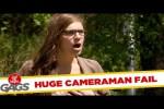Video - Versteckte Kamera - Kamera fliegt ins Wasser