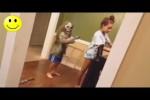 Video - Leute werden erschreckt