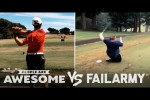Video - Tearing Up The Golf Course & More Wins Vs. Fails - People Are Awesome Vs. FailArmy