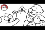 Video - Spider Cat - Simon's Cat (Halloween Special)