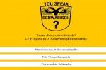 Teste dein schwäbisch