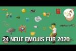 Video - Das sind die neuen Emojis für 2020