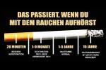 Video - Das passiert, wenn Du mit dem Rauchen aufhörst!