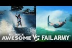 Video - Skiing, Wakeboarding, Freerunning Wins & Fails - People Are Awesome Vs. FailArmy