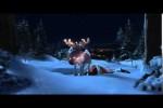 Video - Betrunkener Weihnachtsmann auf seinem Rentier