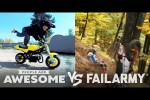 Video - Dirtbiking, Pole Vaulting, & Parkour Wins & Fails! | People Are Awesome VS. FailArmy