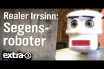 Video - Realer Irrsinn: Segensroboter - extra 3