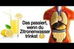 Video - DAS passiert, wenn du jeden Tag Zitronenwasser trinkst