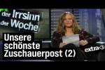 Video - Sarah Bosetti liest Liebesbriefe an extra 3