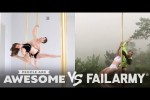 Video - Pole Fitness, Wakeboarding & More | People Are Awesome vs. FailArmy