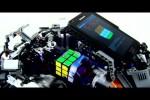 Video - die schnellste Maschine, die den Rubik's Cube löst