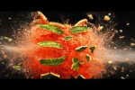 Video - 10 Dinge Explodieren in Slow Motion