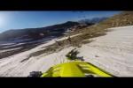 Video - wenn Verrückte unter allen Umständen den vereisten Berg runterfahren müssen