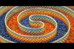 Video - 15.000 Domino-Steine