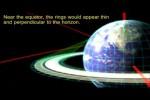 Video - Wie sähe der Planet Erde mit den Ringen des Saturn aus? (Englisch)