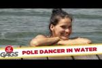 Video - Versteckte Kamera - Pole Dance klappt nicht ganz
