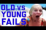 Video - Kids and Old People Fails