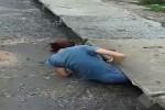 Video - Frau rettet Kaetzchen